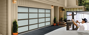 The Heights garage door